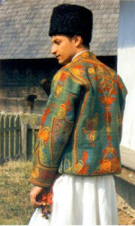 Costum bărbătesc din Muntenia